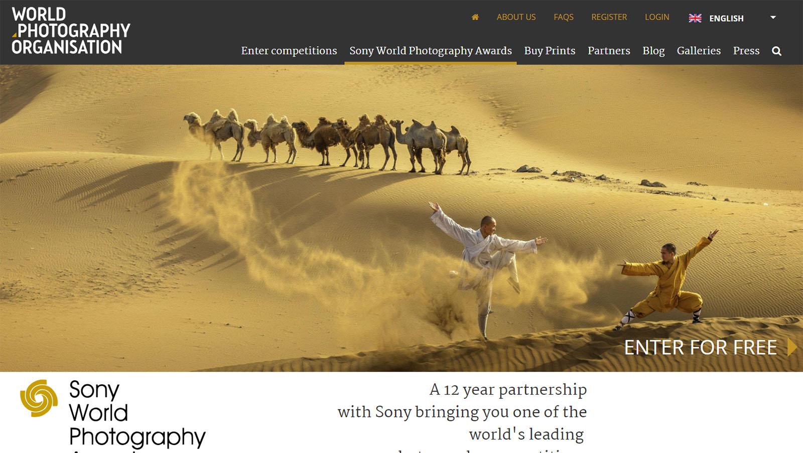 Sony World Photography Awards 2019 ($30,000 prize)