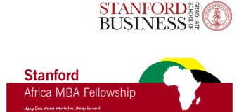 Stanford Africa MBA Fellowship to study at Stanford Graduate School of Business 2018/19