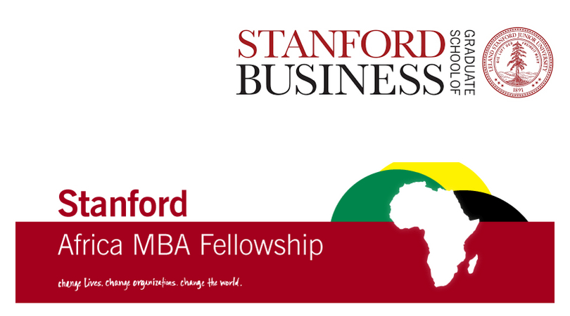 Stanford Africa MBA Fellowship to study at Stanford Graduate School