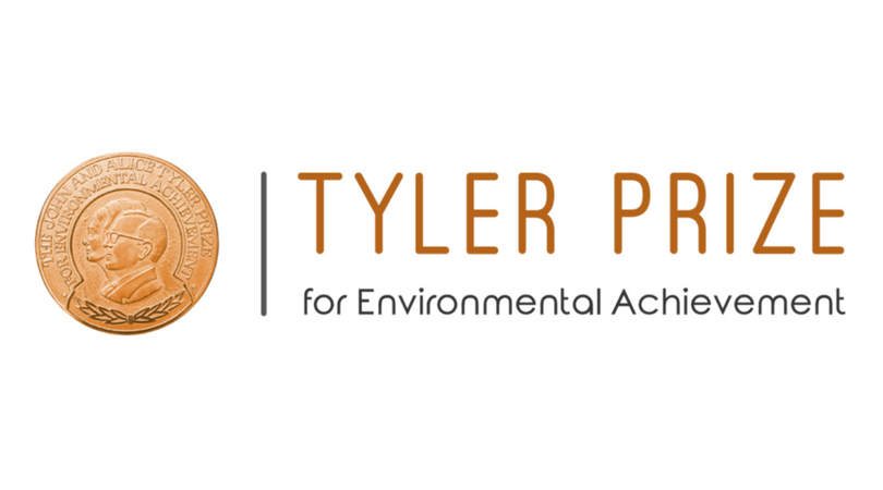 Tyler Prize for Environmental Achievement 2019
