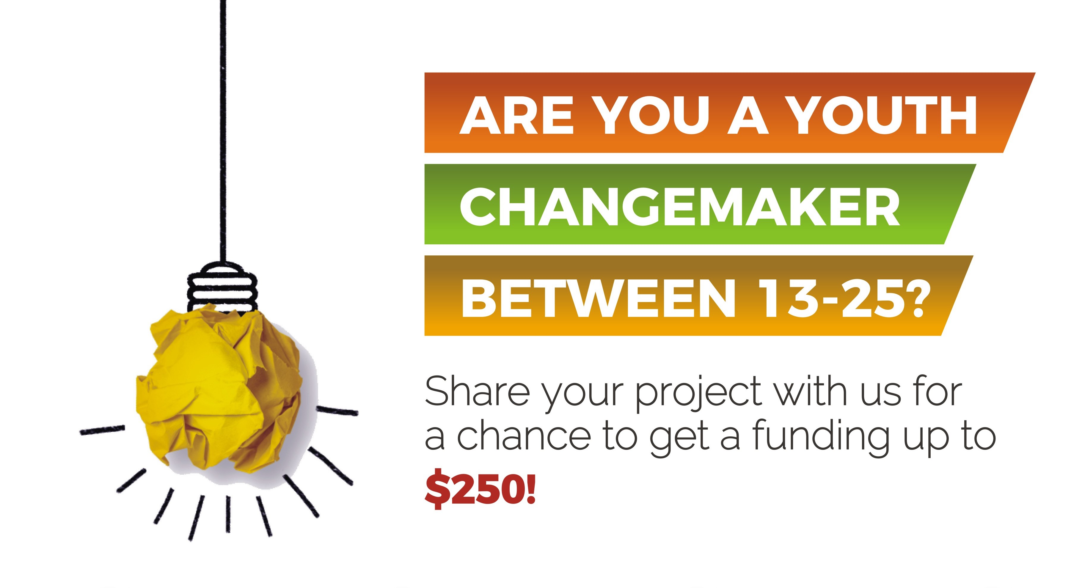 OneAfricanChild Foundation/Peace First $250 Mini-Grant for Youth Changemakers 2018