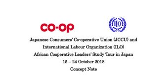 9th ILO/JCCU African Cooperative Leaders' Study Tour in Japan