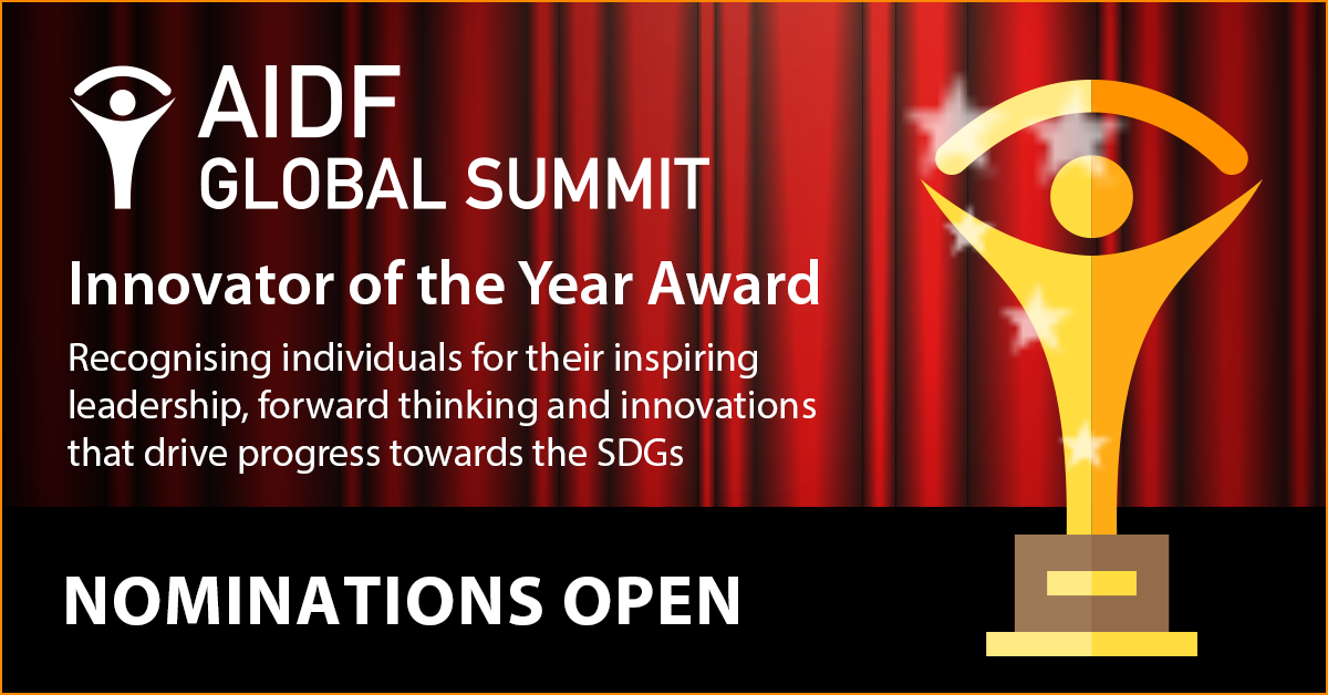 AIDF Global Summit – Innovator of the Year Award 2018