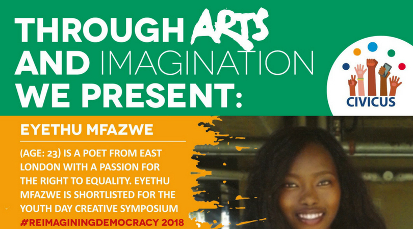 CIVICUS International Youth Day 2018 'Through Arts and Imagination' Contest