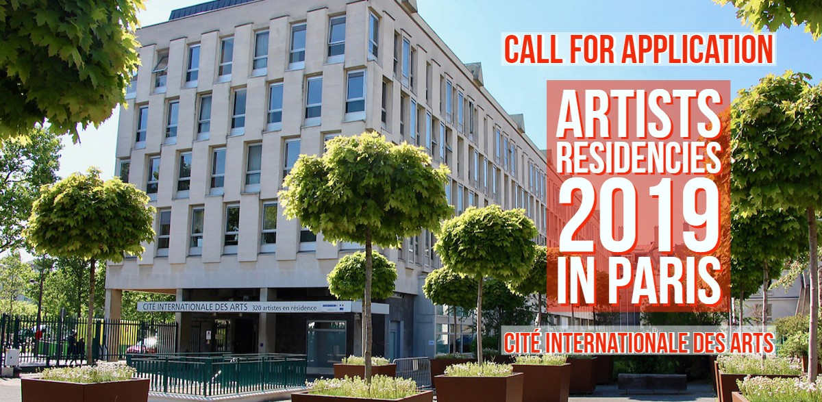 Institut Français Artist Residency Programme 2019 at Cité internationale des Arts in Paris, France (Funded)