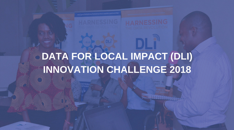 Data for Local Impact (DLI) Innovation Challenge 2018 for Creative Tanzanians