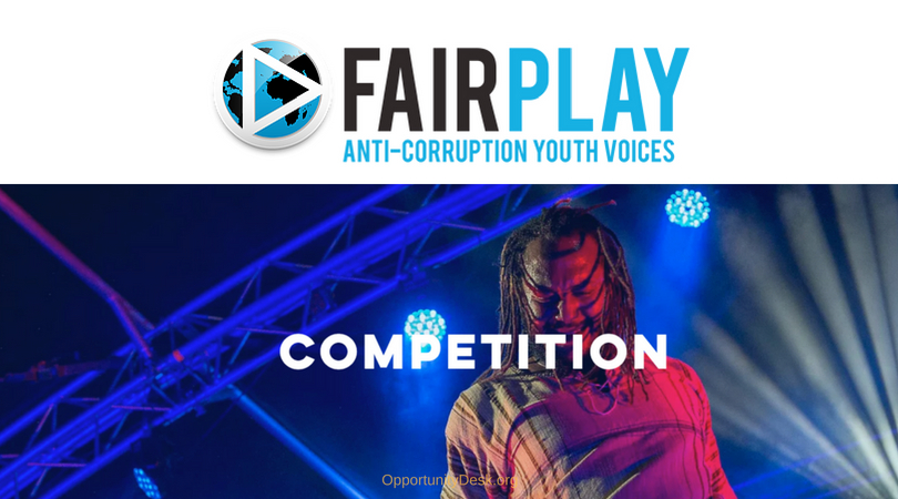 Fair Play Competition for Young Bands 2018 (Win a trip to Denmark for International Anti-corruption Conference)