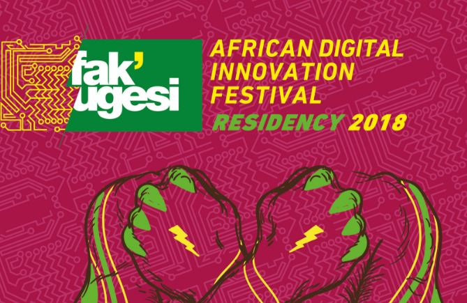 Fak'ugesi African Digital Innovation Festival's Creative Residency 2018 (Funded to Johannesburg)