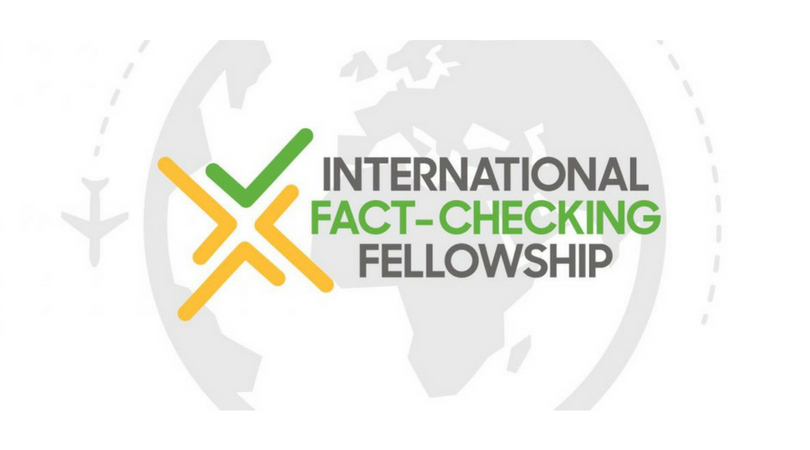Poynter International Fact-Checking Network Fellowships 2018