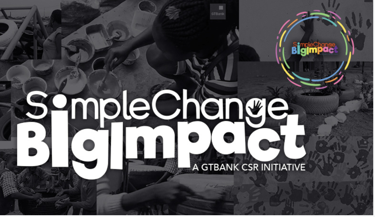 GTBank Simple Change Big Impact Challenge 2018 for Nigerians (Win N1million Naira)
