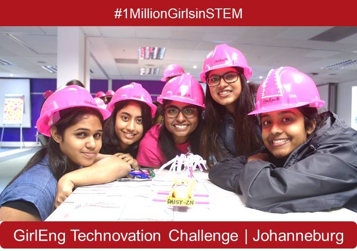 Women in Engineering GirlEng Technovation Challenge 2018 in South Africa