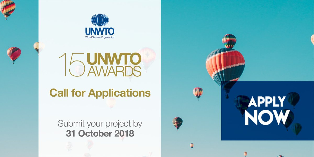 15th World Tourism Organization (UNWTO) Awards