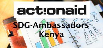 Apply to join ActionAid's SDG-Ambassador Network in Kenya