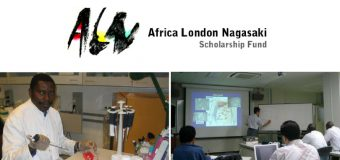 Africa London Nagasaki (ALN) Scholarship Fund 2019/20 for African Scientists to Study in the U.K. or Japan