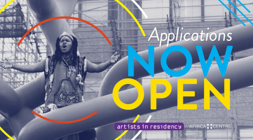 Africa Centre Artists In Residency Programme 2018 for emerging, mid-career and senior level artists