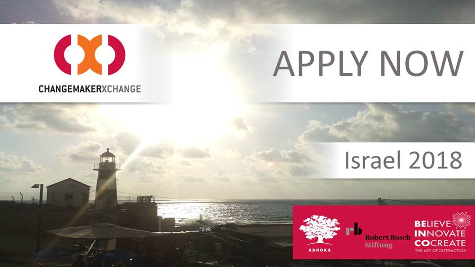 Ashoka ChangemakerXchange Summit in Akko, Israel 2018 (Funded)