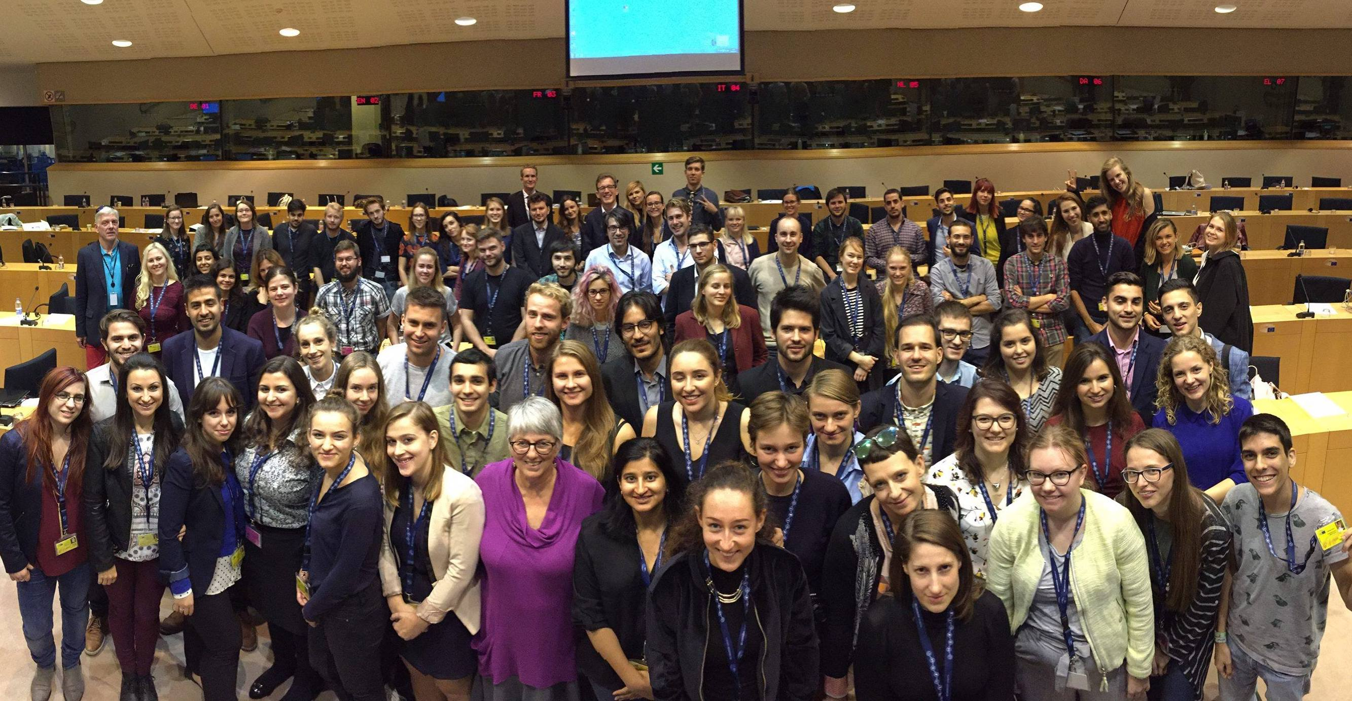 European Youth Media Days 2018 (Fully-funded to report from the European Parliament in Brussels)