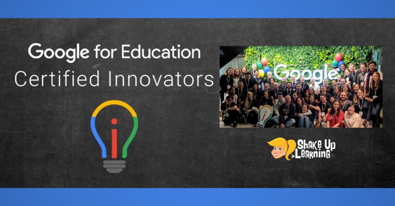 Google for Education Certified Innovator Program 2018 in Madrid, Spain