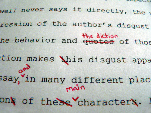 How to Proofread and Edit your College Paper