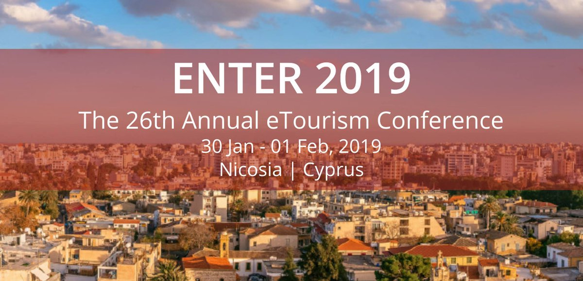 Apply for IFITT ICT4D Scholarship to attend ENTER2019 eTourism Conference in Nicosia, Cyprus (Fully-funded)