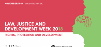 World Bank LJD Week 2018 Law Student Contest for Development Solutions (Win a trip to Washington DC)