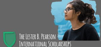 Lester B. Pearson International Scholarship for High School Students to Study at University of Toronto, Canada 2019/20