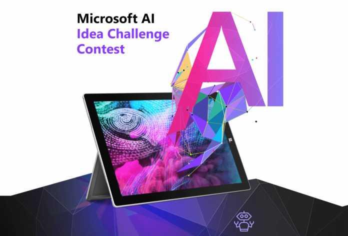 Microsoft AI Idea Challenge Contest 2018 for Developers