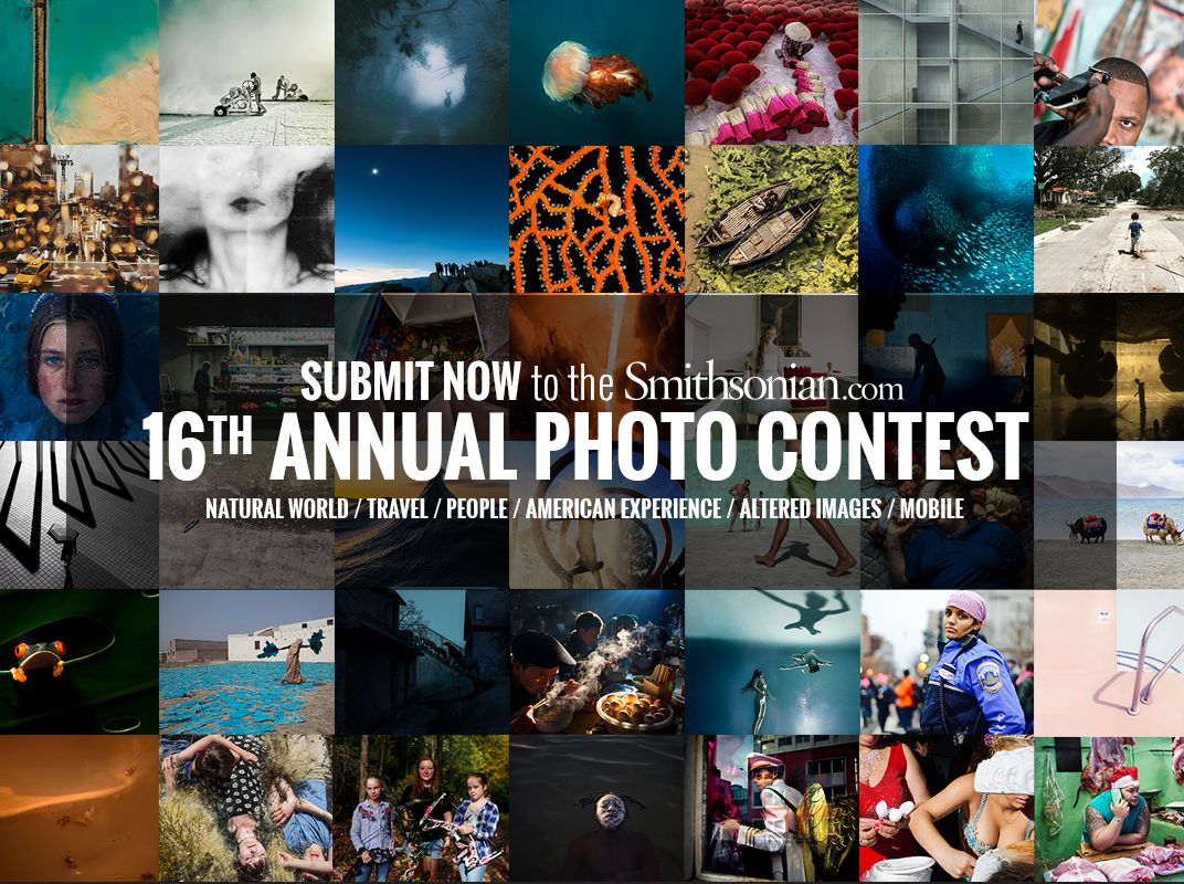 Smithsonian Annual Photo Contest 2018 ($2,500 Grand Prize)