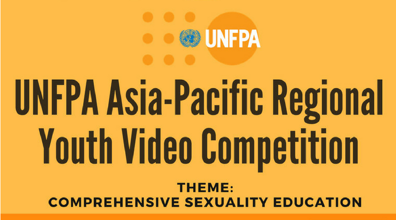 UNFPA Asia-Pacific Regional Youth Video Competition 2018 (Win a trip to Bangkok, Thailand)