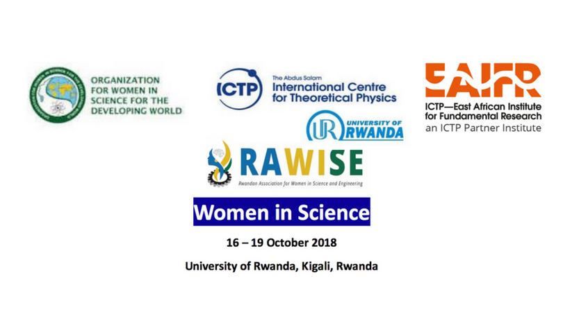 Apply for Women in Science Workshop 2018 in Kigali, Rwanda (Funding Available)