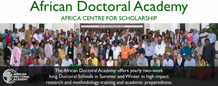African Doctoral Academy (ADA) Summer School at Stellenbosch University 2019