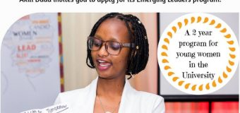 Akili Dada Emerging Leaders Program 2018 for Young Women in Kenyan Universities