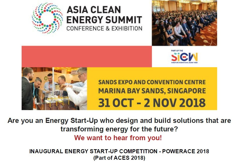 PowerACE Energy Start-up Competition 2018