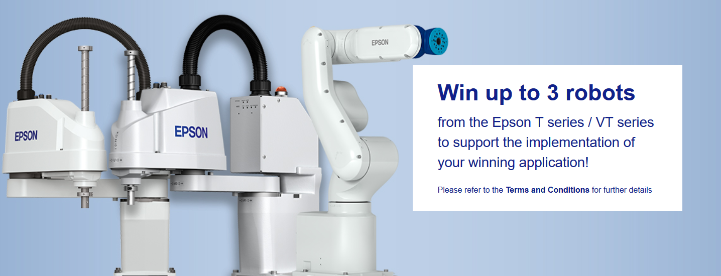 EPSON Robot Competition 2018 for Institutions Across the EMEA Region
