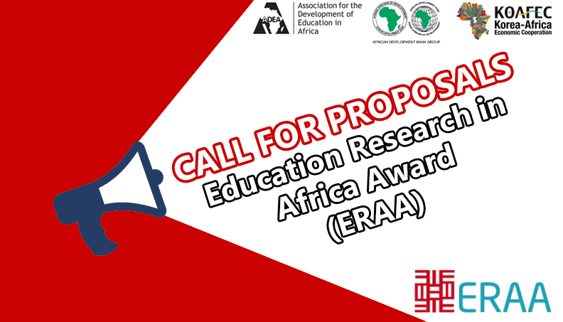 Call for Proposals: Education Research in Africa Award 2018
