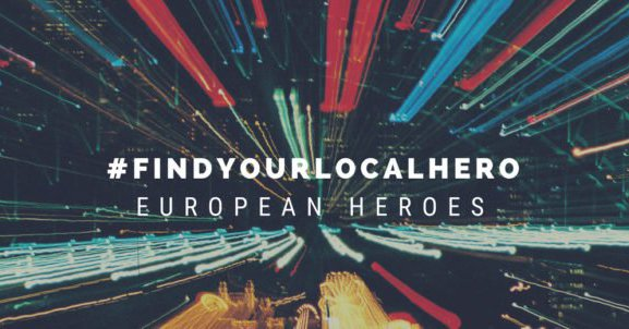 Submit the Story of your Local Hero for the #FindYourLocalHero Campaign 2018