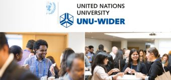 United Nations University (UNU-WIDER) Visiting Scholars Programme 2018