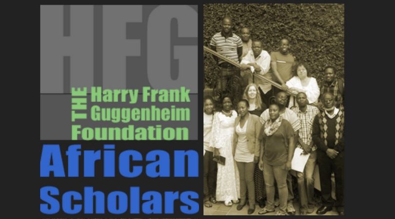 Harry Frank Guggenheim Foundation: Young African Scholars Program 2018 (Funded)