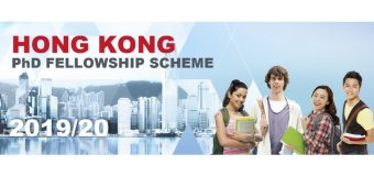 Hong Kong PhD Fellowship Scheme (HKPFS) 2019/20