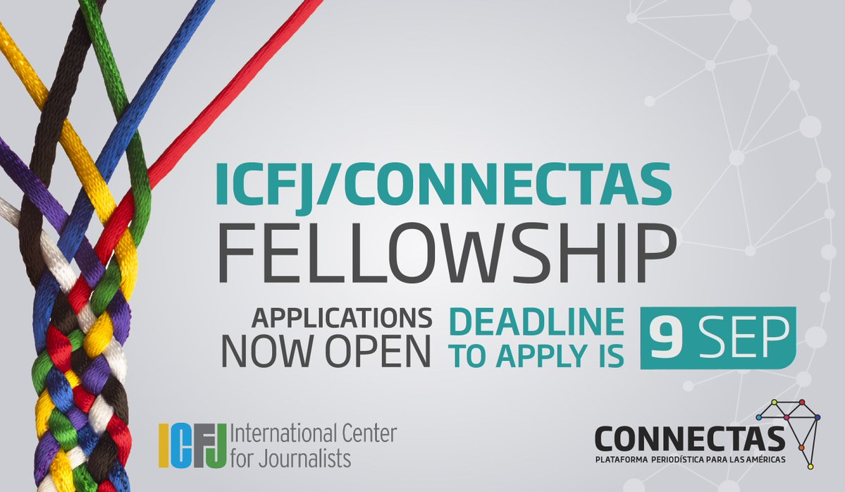 ICFJ/CONNECTAS Fellowship for Journalists in the Americas