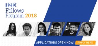 INK Fellows Program 2018 for Gamechangers Worldwide (Fully-funded)