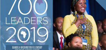 Apply: Mandela Washington Fellowship 2019 for Young African Leaders (Fully-funded to the United States)