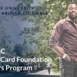Mastercard Foundation Scholars Program 2020/2021 at the University of British Columbia (Fully-funded)