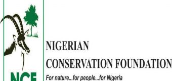 Nigerian Conservation Foundation Chief S.L. Edu Research Grant 2019/2020