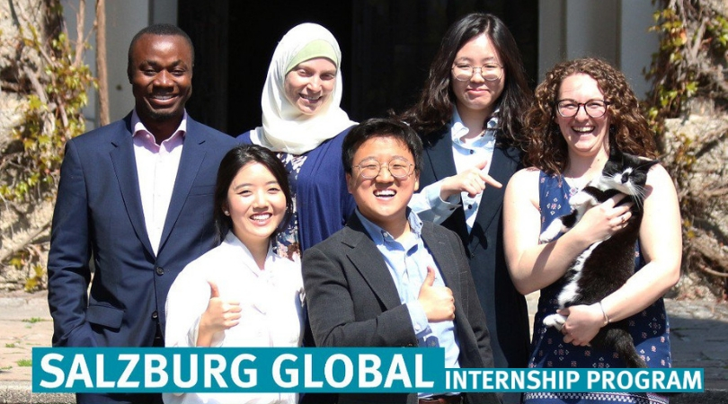 Salzburg Global Seminar Internship Program 2020 in Austria and Washington DC (Funded)