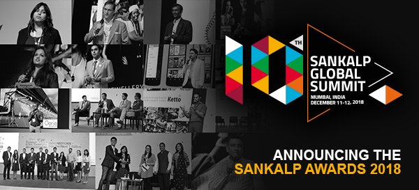 Sankalp Awards 2018 for Social Enterprises in India