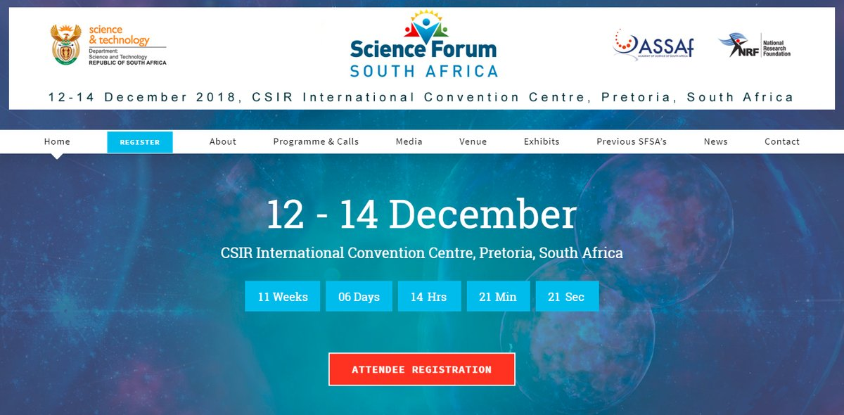 Media Fellowships for African-based Journalists to attend Science Forum South Africa(SFSA) 2018