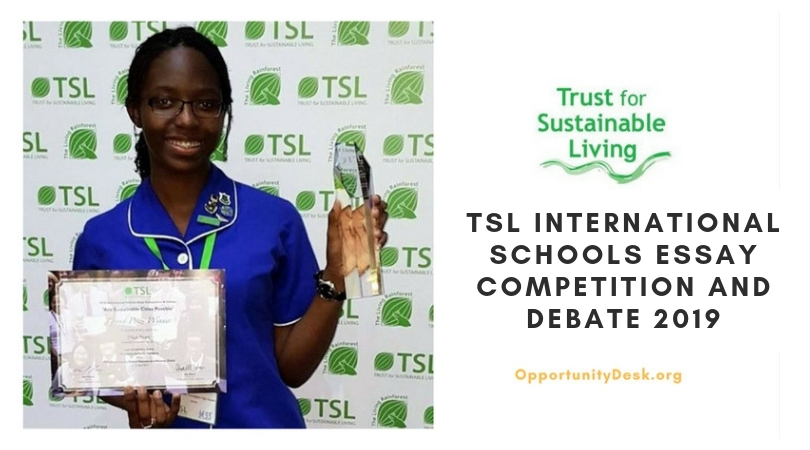 TSL International Schools Essay Competition and Debate 2019