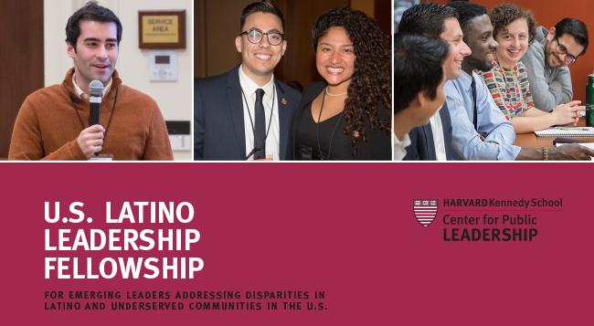 U.S. Latino Leadership Fellowship 2019 at Harvard Kennedy School (Fully-funded)