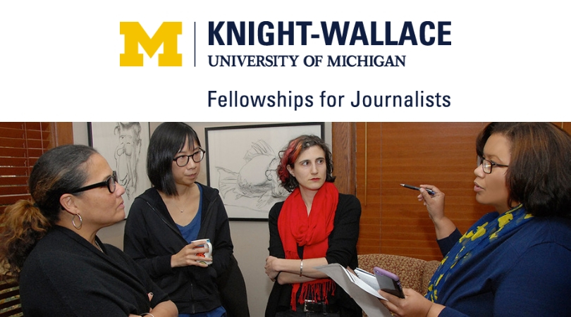 University of Michigan Knight-Wallace Journalism Fellowship for Journalists 2020/21 (Fully-funded)